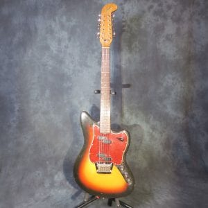 Fender XII 1966 Three Tone Sunburst 12 String Electric Guitar