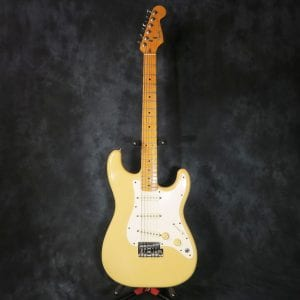 Fender Stratocaster USA 1983 Ivory Dan Smith American Stratocaster + Case Strat Guitar Celebrity Played