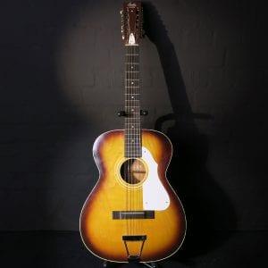 Stella Harmony H912 12 String 1966 Sunburst Kurt Cobain Nirvana Acoustic Guitar