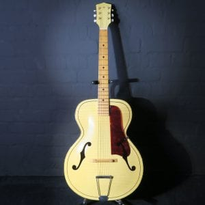 Kay Catalina Archtop F Hole Blonde Kurt Cobain Come As You Are Acoustic Guitar