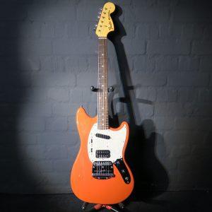 Fender Kurt Cobain Mustang Fiesta Red 2012 Nirvana Guitar + Hardcase
